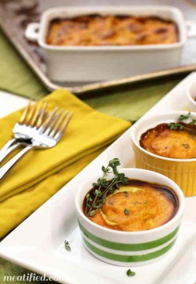 Vegan Sweet Potato Gratin|Meatified
