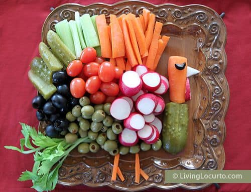 Turkey Vegetable Tray|Living Locurto