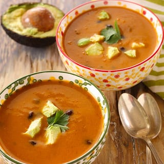 Chipotle Sweet Potato Black Bean Soup