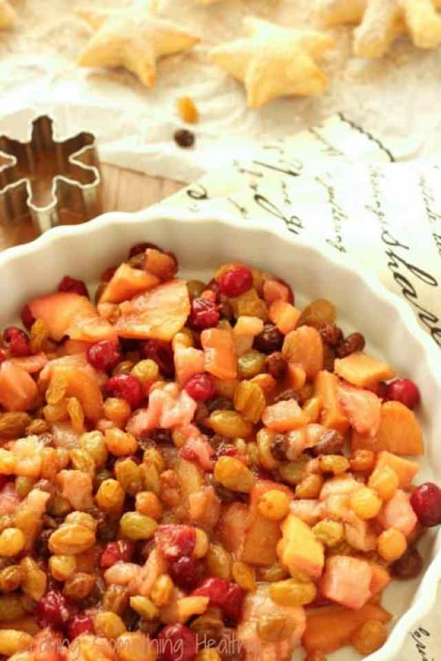 Spiced Winter Fruit Compote|Craving Something Healthy