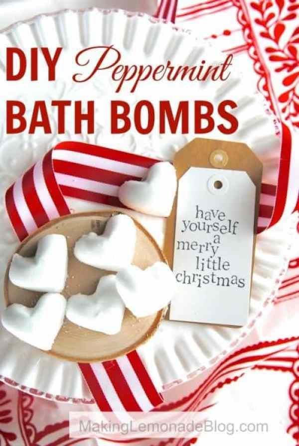 DIY Peppermint Bath Bombs|Making Lemonade