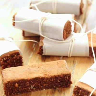 Vegan German Chocolate Energy Bars
