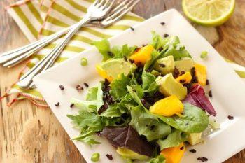 Mango Avocado and Forbidden Rice Salad