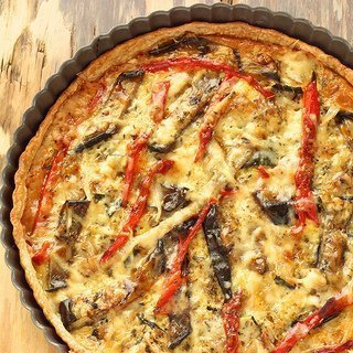 Grilled Vegetable Tart {Recipe ReDux}