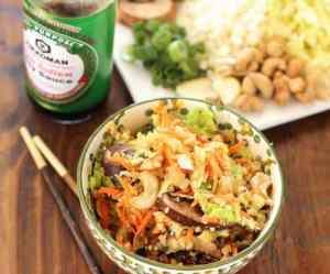 Cauliflower Fried Rice|Craving Something Healthy