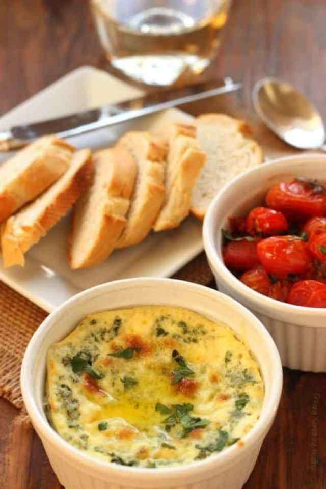 Baked Ricotta with Caramelized Tomatoes|Craving Something Healthy