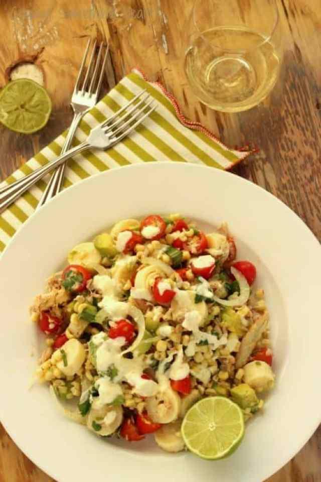 Summer Crab Shack Salad|Craving Something Healthy