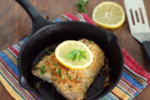 Salmon Oreganata from The Natural Pregnancy Cookbook|Craving Something Healthy
