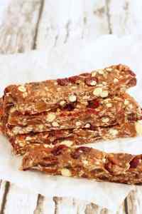 No Bake Fruit and Nut Energy Bars|Craving Something Healthy