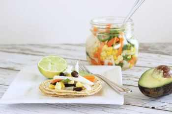 Pickled Taco Salad|Craving Something Healthy
