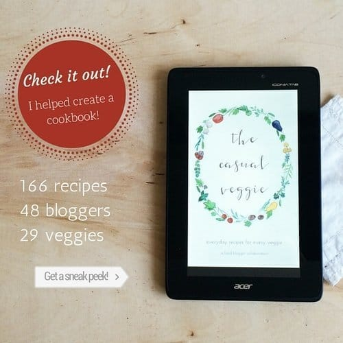 The Casual Veggie Cookbook
