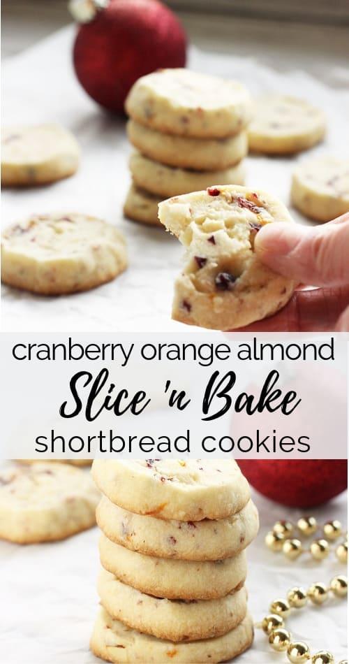 cranberry orange almond shortbread cookies|Craving Something Healthy