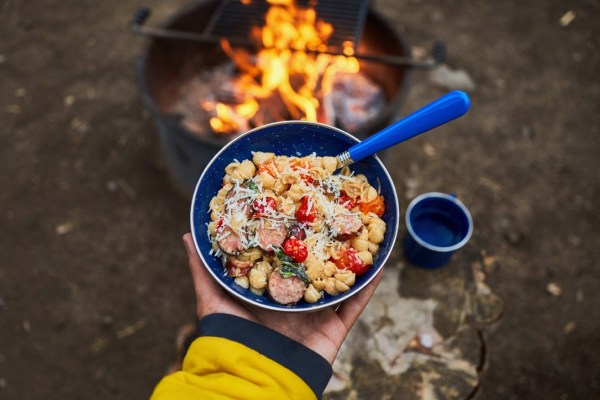 Upgraded Boxed Mac and Cheese for Camping! [Recipe]