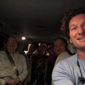 A Shuttle Bus with Friends from Mt Barker