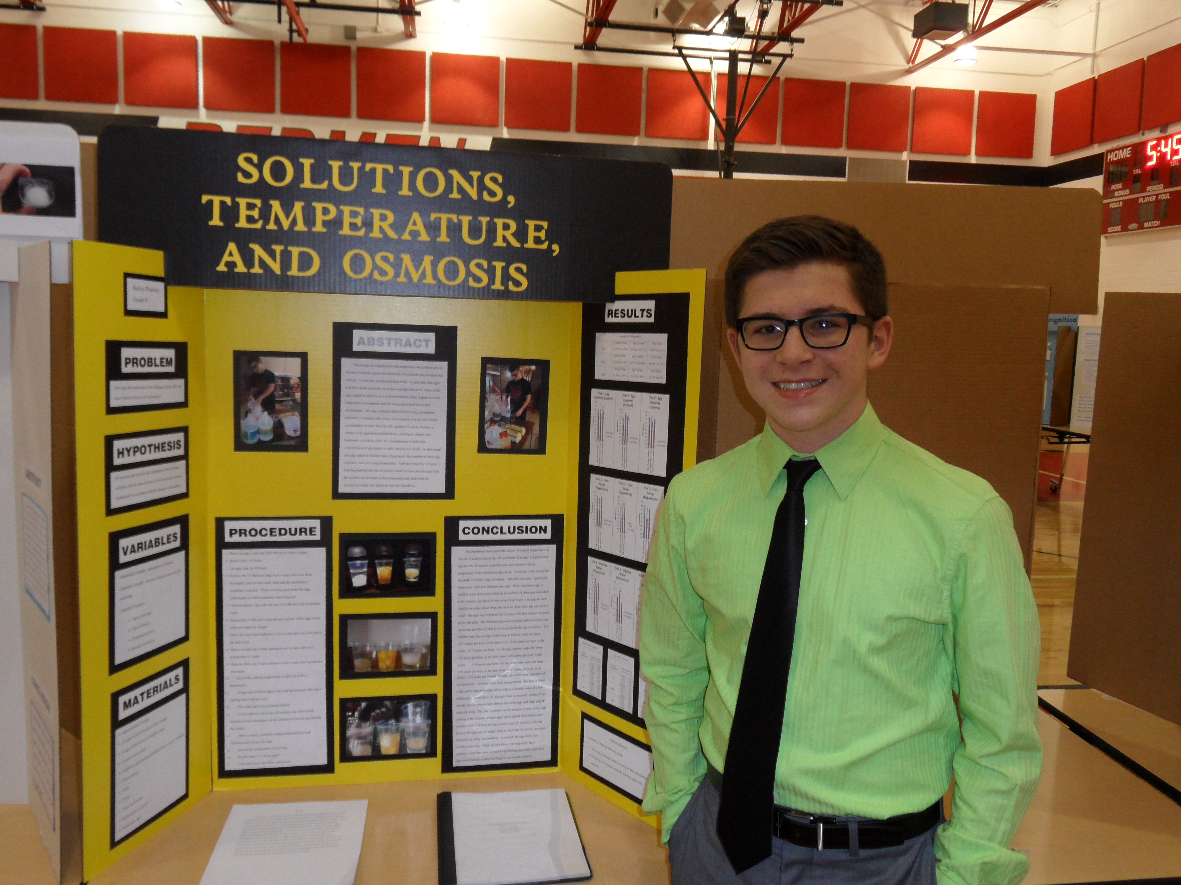 Bucyrus Science Fair Offers Variety Of Intriguing Projects