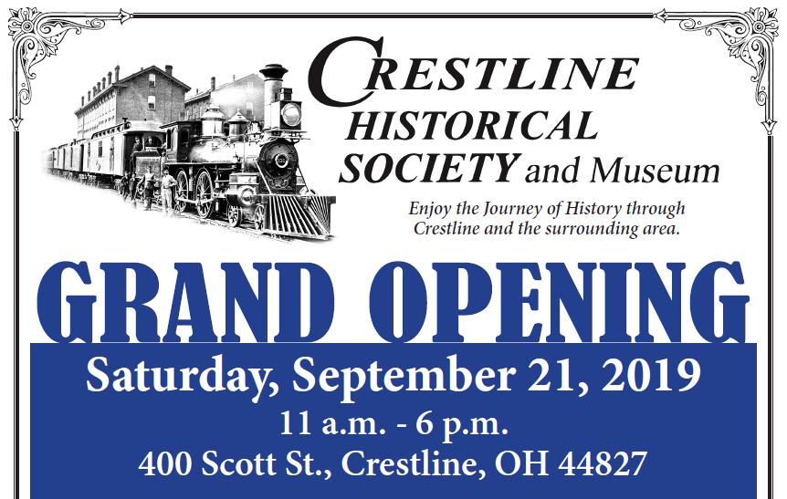 Crestline Historical Society Grand Opening
