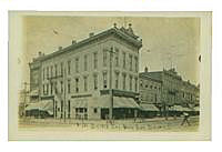 City Bank in Bucyrus Ohio, circa 1909