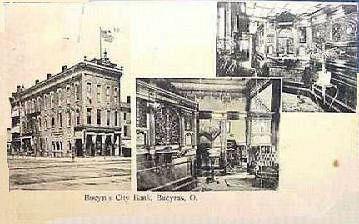 City Bank in Bucyrus, Ohio circa 1909
