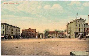 Washington Square in 1924