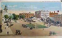 Washington Square in 1920s