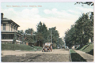 Mystery Street in Bucyrus Ohio