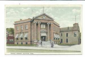 Bucyrus Ohio Public Library in 1910