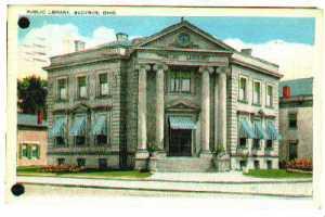 Bucyrus Ohio Public Library ca 1910
