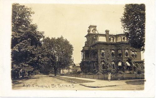 Major Kearsley Home in 1912