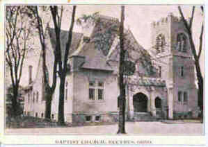 1907 First Baptist Church, Woodlawn Ave, Bucyrus Ohio