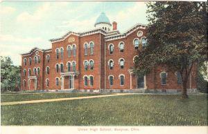 Bucyrus Ohio Union High School in 1909