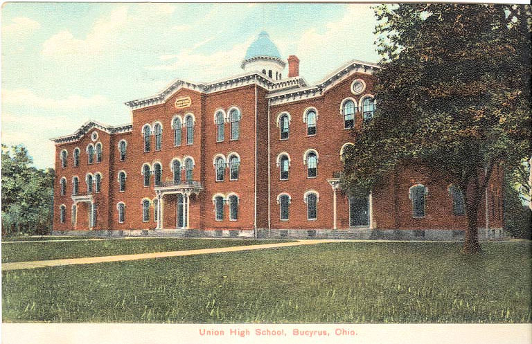 Bucyrus Ohio Union High School in 1909