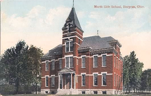 North Side School in 1910 Later became Lincoln School