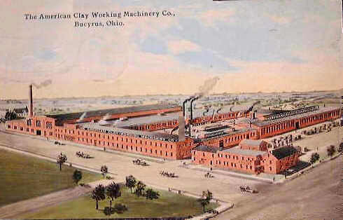 This is the American Clay Working Plant.