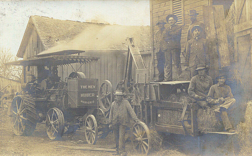 This is identified as workers at Huber-Marion. Would this have been the Riddell Plant? Does anyone know what year this was?