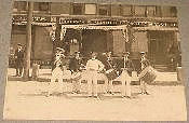 This is the Bucyrus Marching Band - but no identification is made of the members, location and date. Would this band have been affiliated with the High School or some other organization.