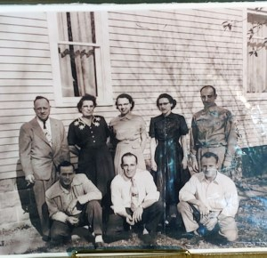 The John Shealy family picture was taken November 15, 1953.
