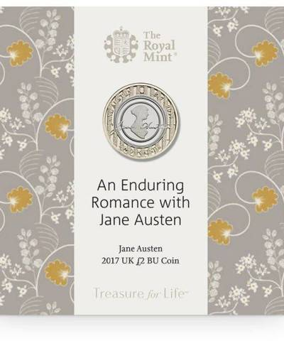 2017 Jane Austen £2 BU
