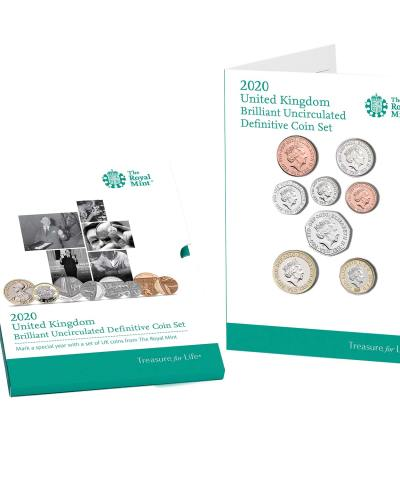 2020 Annual Definitive BU Coin Set