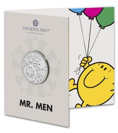 2021 Mr. Happy Mr. Men BU £5