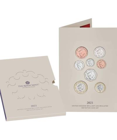 2021 Annual Definitive Coin Set