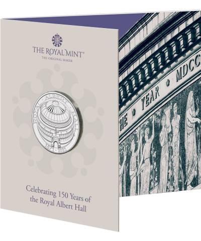 2021 Royal Albert Hall £5 BU