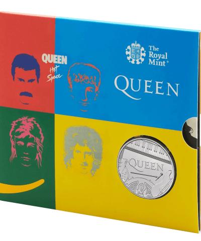 2020 Music Legend QUEEN – Hot Space UK £5