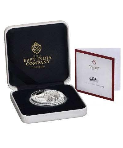 2021 Queen's Virtues – Truth 1oz Silver Proof Coin