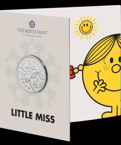 2021 Little Miss Sunshine™ BU £5