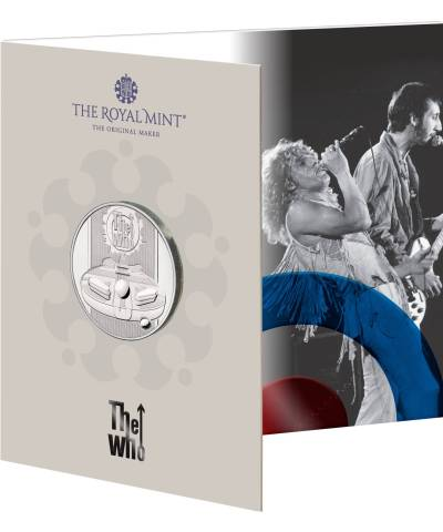 2021 Music Legends – The WHO £5 BU
