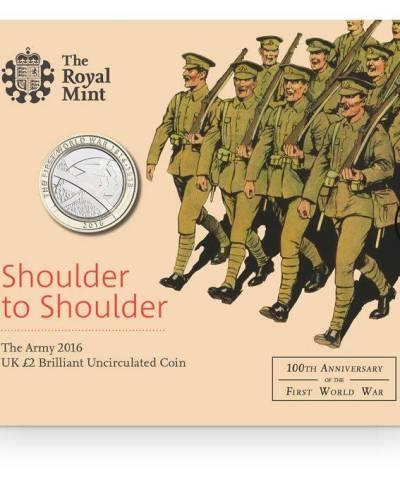 2016 The Army £2 BU