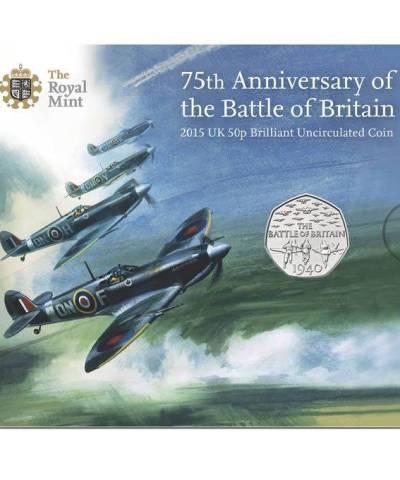 2015 Battle of Britain 50p BU