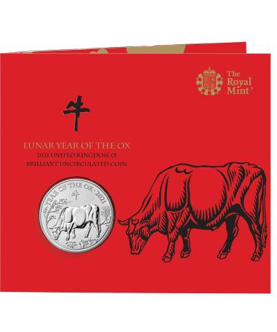 2021 Lunar Year of the Ox £5 BU