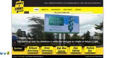 Adopt A Light Website