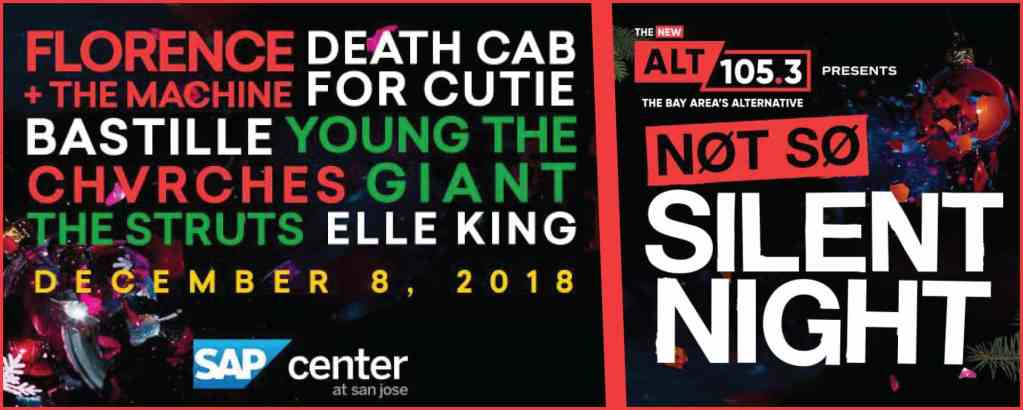 Not So Silent Night Lineup Announcement 2018